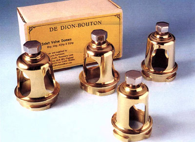 Bronze inlet Dome + Steel Screw